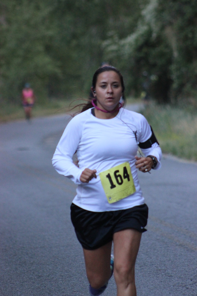 Photo of 10K Runner on the Course for the 2013 Tower Rock Run