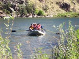 Green River Rafting near Little Hole
