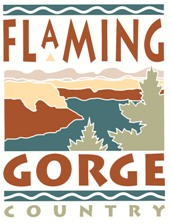 logo of the Flamign Gorge Chamber of Commerce