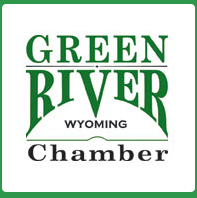 logo for the Green River Chamber of Commerce
