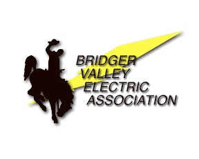logo for Bridger Valley Electric in Mountain View, Wyoming