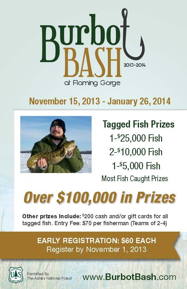 Flyer for 2013-14 Burbot Bash