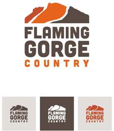Version 1 of 3 of possible new Flaming Gorge Chamber Logo