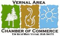Logo for the Vernal, Utah Chamber of Commerce