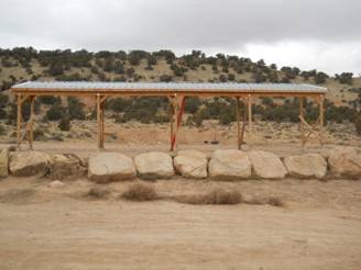 Pistol Range at Daggett County Shooting Range